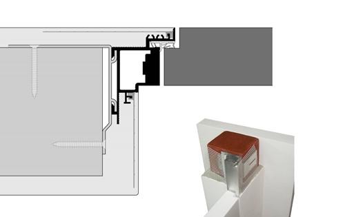 Montaggio Porta Filo Muro Cartongesso frameless - ags systems | porte e battiscopa a filo